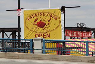 Downtown träff på The Barking Crab